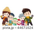 集合する家族 冬服 44671024