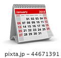 January 2019 44671391