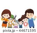 助け合いのボランティア活動 44671595