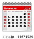 November 2019 44674589