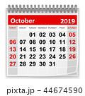 October 2019 44674590