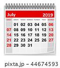 July 2019 44674593