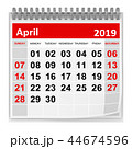 April 2019 44674596