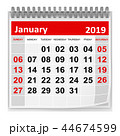 January 2019 44674599