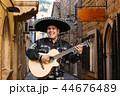 マリアッチ ミュージシャン ギターの写真 44676489