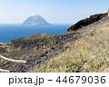 八丈小島 島 風景の写真 44679036