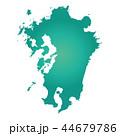 九州地図 44679786