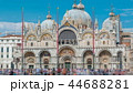 Basilica of St Mark timelapse. It is cathedral church of Roman Catholic Archdiocese of Venice 44688281