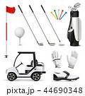 組み合わせ GOLF ゴルフのイラスト 44690348