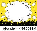 観客 コピースペース フレームのイラスト 44690536