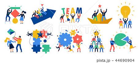 Teamwork Icons Set 44690904