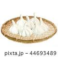 大蒜 にんにく 野菜のイラスト 44693489