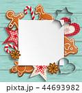 クリスマス バックグラウンド 背景のイラスト 44693982