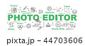 アイコン 写真 フォトのイラスト 44703606