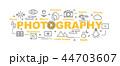 アイコン 写真 フォトのイラスト 44703607