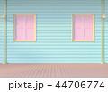 壁 デッキ 窓のイラスト 44706774