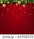 クリスマス デコレーション 装飾のイラスト 44708529