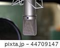 マイク コンデンサーマイク スタジオの写真 44709147