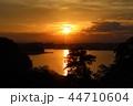 宮城県七ヶ浜町多聞山からの夕景 44710604