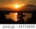 宮城県七ヶ浜町多聞山からの夕景 44710606