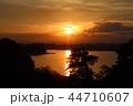 宮城県七ヶ浜町多聞山からの夕景 44710607