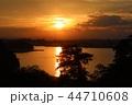 宮城県七ヶ浜町多聞山からの夕景 44710608