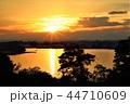 宮城県七ヶ浜町多聞山からの夕景 44710609
