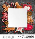 クリスマス バックグラウンド 背景のイラスト 44718969