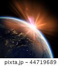 地球 スペース 空間のイラスト 44719689