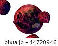 地球の危機(CGイラストレーション・透過素材) 44720946