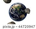 地球の危機(CGイラストレーション・透過素材) 44720947
