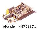 倉 倉庫 蔵のイラスト 44721871