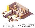 倉 倉庫 蔵のイラスト 44721877