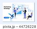 デジタル 作戦 戦略のイラスト 44726228