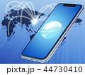 スマートフォン(ネットワーク) 44730410