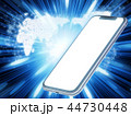 ネットワーク スマートフォン スマホのイラスト 44730448