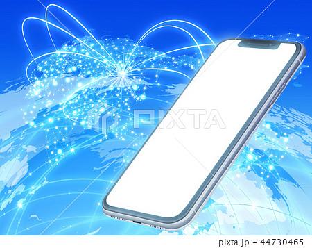 スマートフォン(ネットワーク) 44730465