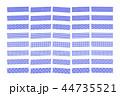 マスキングテープ テープ 模様のイラスト 44735521