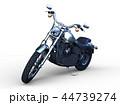 乗り物 バイク オートバイのイラスト 44739274