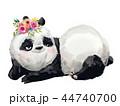 ぱんだ パンダ 動物のイラスト 44740700