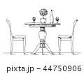 椅子 チェア いすのイラスト 44750906