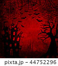 ハロウィン 人影 影のイラスト 44752296