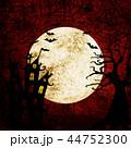 ハロウィン 人影 影のイラスト 44752300