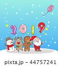 Merry Christmas wih 2019 44757241