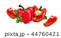野菜 赤い ピーマンのイラスト 44760421