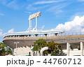 神戸総合運動公園 晴れ 照明灯の写真 44760712