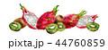 くだもの フルーツ 実のイラスト 44760859