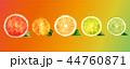 オレンジ オレンジ色 橙のイラスト 44760871