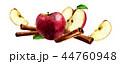 シナモン ニッキ 肉桂のイラスト 44760948