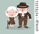 おばあさん おばあちゃん お婆さんのイラスト 44761321